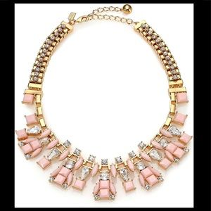 Kate Spade Statement necklace in pink
